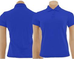... Kit com 5 Camisetas Gola Polo Feminino mod.2 ee229a2302e78