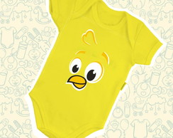 Body Infantil Face Pintinho Amarelinho B232AM