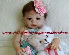 60416fc1f Bebê Reborn Eloá - silicone - PRONTA ENTREGA! no Elo7