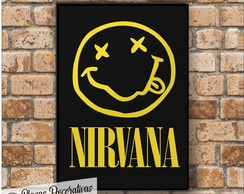 Placa decorativa - Nirvana