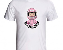 Camiseta Future Is Female Frase Feminista