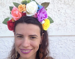 4513a2064 Tiara Flores Exóticas do Carnaval 01 no Elo7
