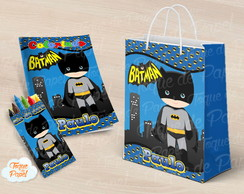 Revista Revistinha para pintar batman cute