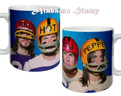 Caneca bandas de rock Red Hot Chili Peppers brindes