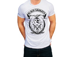 Camiseta Banda Camisa Rock T-Shirt Black Sabbath Homem