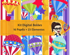 Kit Digital | Balões