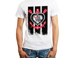 3da10e9500 ... Camiseta Camisa Futebol Time Coringão Gaviões Masculina Bran