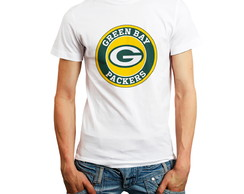 Camiseta Green Bay Packers Futebol Americano Branca Oferta
