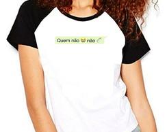 ... Camiseta Carnaval Quem Não Chora Não Mama frases Raglan 96f97e27b4209