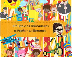 Kit Digital | Bita e as Brincadeiras