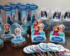 Kit Personalizados Frozen