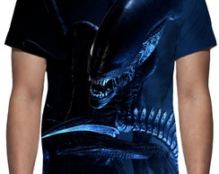 Camiseta - Alien - Estampa Total