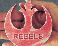 Medalhão Gigante - Rebels - Starwars