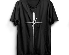 ... camiseta personalizada com estampa FÉ c10944d222d85