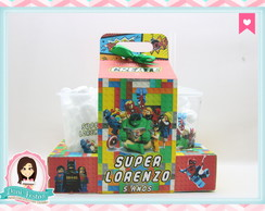 Kit Cinema Lego Super Heróis