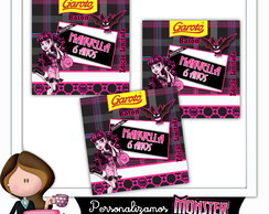 Rótulo para baton monster high