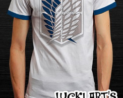 Camiseta Camiseta Attack on Titan