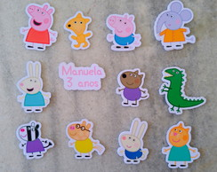 Tags toppers simples pig