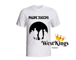 Camiseta Rock Imagine Dragons