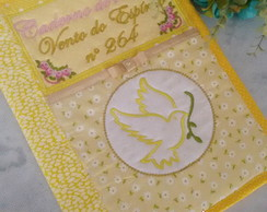 18d01ec623213 Capa para caderno personalizada religiosa