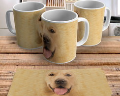Caneca Dog Big Face Golden Retriever