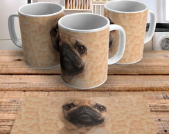 Caneca Dog Big Face Pug