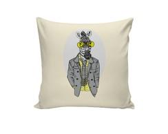 fc9ef3f5255d ... Capa de Almofada - Zebra Hipster