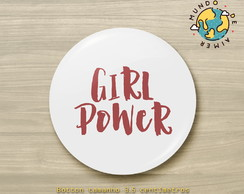 Botton Alfinete Girl Power
