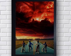 Poster Decorativo Stranger Things