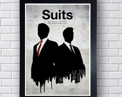 Poster Decorativo Série Suits