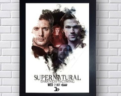 Poster Decorativo Supernatural Elenco