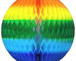 886dcb983180e Bola Pompom de papel seda Colorido enfeite junino + cores no Elo7 ...