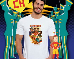 Camiseta Personagens Chapolin
