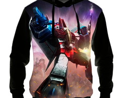 Blusa Moletom Anime Transformers Starscream - Casaco de Frio