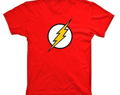 Camiseta Super Heróis Flash