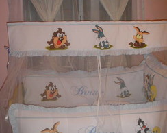 KIT DE BERÇO BABY LOONEY TUNES