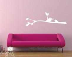 6f1626076 Decoração de sala de estar com galho árvore e passarinhos no Elo7 ...