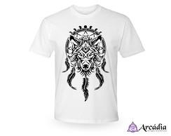 cba4ffd42e Camiseta Personalizada Branca Estampa Dupla