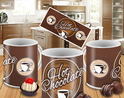 Caneca Porcelana Personalizada Pascoa Chocolate Hot