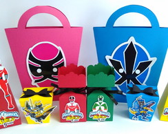 Kit Power Rangers - 50 Pcs.