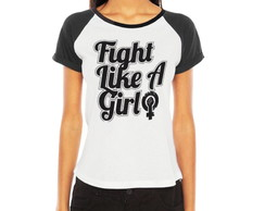 Raglan Fight Like a Girl