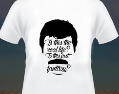 nuevo alto mitad de descuento zapatos clasicos Camiseta Queen Rock Freddie Mercury Masculina no Elo7 | Você ...