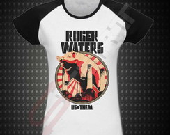 Baby look raglan - Roger Waters Us + Them