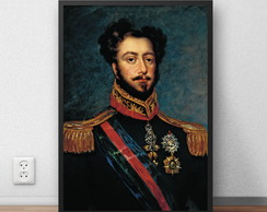 Quadro Decorativo Dom Pedro Ii Imperador 29 7x42 Cm P63 No Elo7