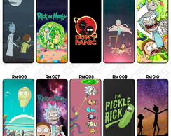 Capa Celular Rick And Morty Netflix Cartoon Personalizada