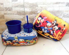 Kit Almofada de Cinema - Turma do Mickey