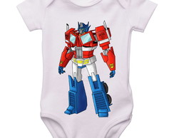 Body do Bebê Personalizado, Optimus Prime