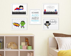 Quadros Decorativos Super Herois