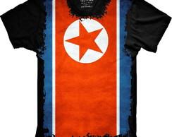 5c6274c859b8a ... Camiseta Bandeira Da Córeia Do Norte