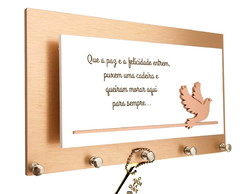 Porta Chaves/Cartas Momento Divino Rose Gold Ref 241